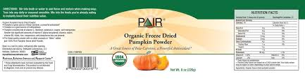 Libbys Pumpkin Nutrition Info by 100 Libbys 100 Pure Pumpkin Nutritional Info Libby U0027s