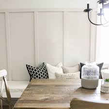 With Our Recent Dining Room Makeover I Thought Would Share How Easy It Was To Create The Board And Batten Planned Mine Out So There Hardly Any