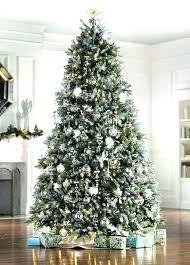 Unlit Christmas Tree 9 Ft White Artificial Islands Ferry Innovative Ideas Lit Foot Slim