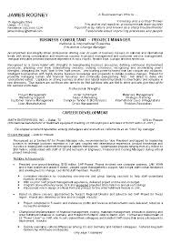 Business Resume Template Examples On Good
