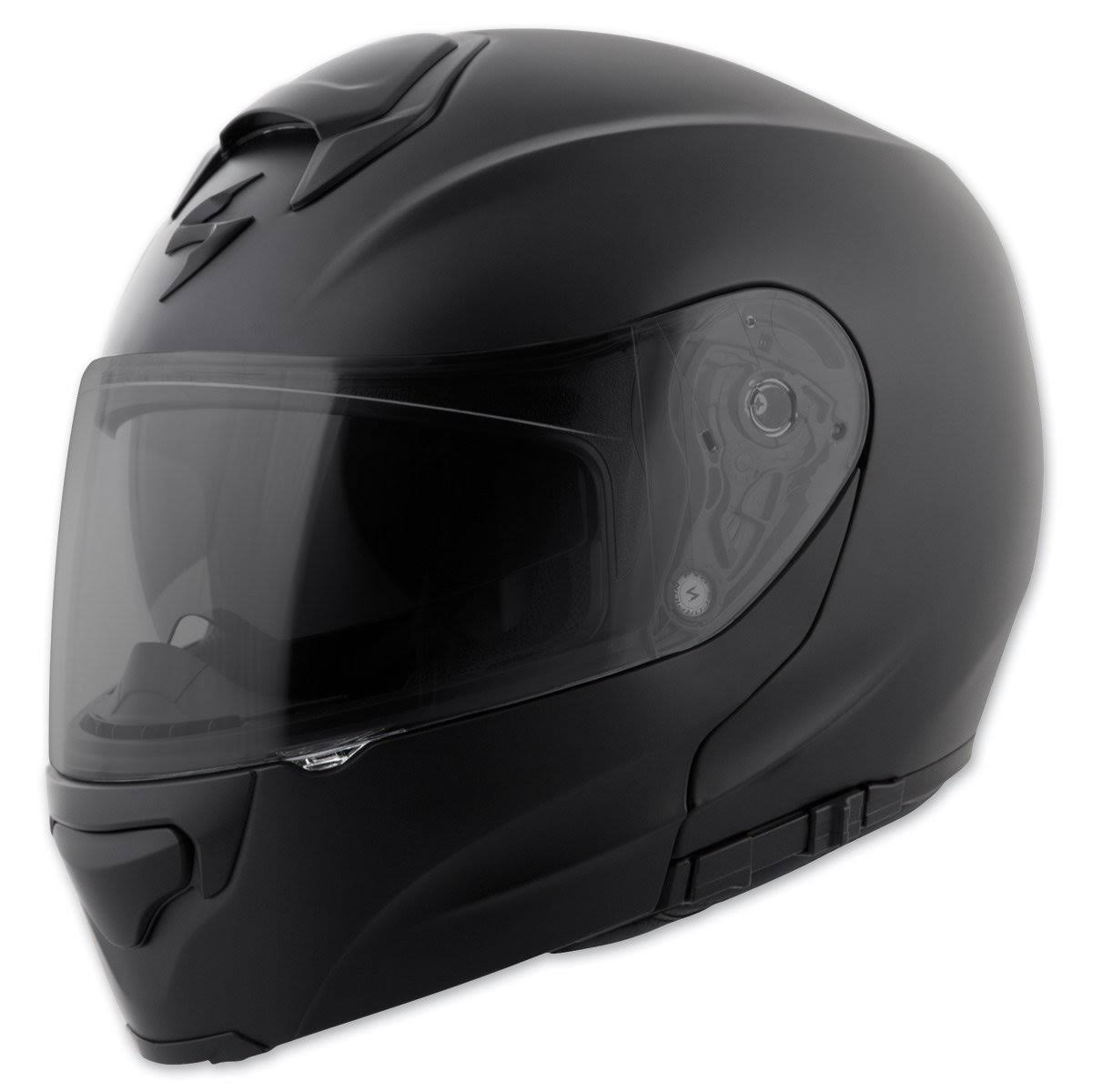 Scorpion Gt3000 Solids Modular Motorcycle Helmet - Matte Black, Small