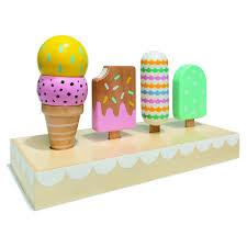 Wooden Ice Cream Set Kmart