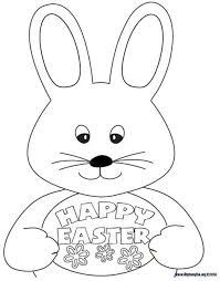 Easter Colouring Sheet Print This Out To Keep Kids Entertained