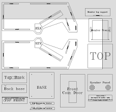 Mame Cabinet Plans Download by Final Fight Classic Arcade Cabinets