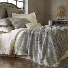 Bed Set Faux Fur Bedding Set