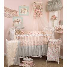 cotton tale designs tea party floral 4 piece crib bedding set tp4s