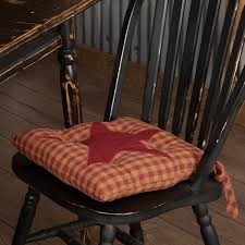 Burgundy Red Primitive Tabletop Kitchen Cody Burgundy Star Cotton ... Chair Outdoor Rocking Cushions High Back Garden Pads With Ties Kitchen Country Cozy And Stylish Homesfeed Cushion Sets More Clearance Ipirations Interesting Bar Stool For Your Stools Coordinate Decor With Curtains Sturbridge Yankee Fniture Add Comfort And Style To Favorite Checkers Black White Checkered Latex Foam Green Stunning Mainstays Trellis Walmart Com Eaging Interior Outstanding Design Make A Comfortable Windsor Chairs Sophisticated Marvellous