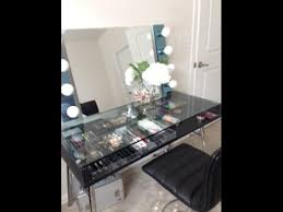 DIY Modern Vanity With Lights YouTube Intended For Strip Decor 14