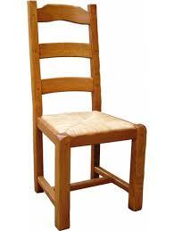 chaise en ch ne massif chaise rustique en chêne massif