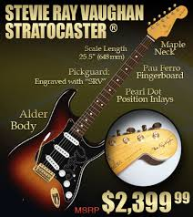 Win This Stevie Ray Guitar