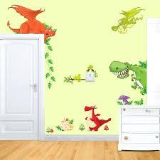 Pottery Barn Baby Wall Decor by Wall Ideas Lovely Dinosaur Paradise Wall Art Decal Sticker Decor
