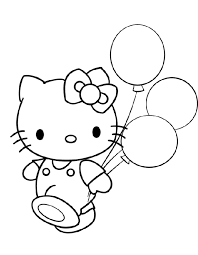 Top 30 Hello Kitty Coloring Pages To Print Procoloring