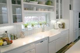Kitchen Backsplash Golden Sink Faucet Vertical Red Pendant Lights Black Electronic Microwave Stainless Steel