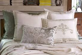 Discontinued Lili Alessandra Marci Antique White Linen with Ice