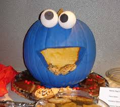 Puking Pumpkin Pattern Free by 21 Clever Pumpkin Carving Ideas Cookie Monster Pumpkin Cookie