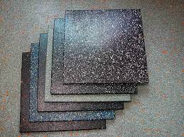 And Speckled Rubber Tiles Photo Courtesy Of Tootoo