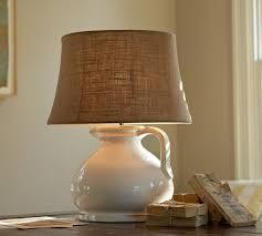 Large Lamp Shades Target by Burlap Lamp Shade Diy Improving The Looks Of Your Living Room