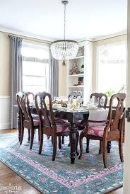 Dining Room Rugs Beautiful With A Modern Traditional Feel Neutral Pops Of Pink Extraordinary