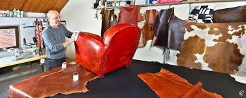 recouvrir un fauteuil club henri jaussaud tapissier sellier cuir