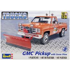 Revell Plastic Model Kit-GMC Pickup W/Snow Plow 1/24 | Old Stuff ... Revell Iveco Stralis Truck Plastic Model Kit Trade Me Kits Colpars Hobbytown Usa Ford Photographs The Crittden Automotive Library 132 Scale Snaptite Fire Sabes Amt 125 Freightliner Cabover 620 Mib Truck Plastic Model Kits My Website Blog 3dartpol Blog Convoy Mack Plastic 1965 Chevrolet Fleetside Pickupnew Pictures Scale Auto Magazine Buy 301950s Cartruck 11 Khd A3000 Wwii German Icm Holding Model White Freightliner 2in1 For Amazoncom Monogram 124 Gmc Pickup With Snow Plough Toys