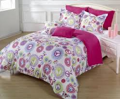 Peace Sign Bedding Set Peace Sign Bedding for Girls