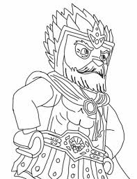 Lego Chima King Lagravis Coloring Pages Batch