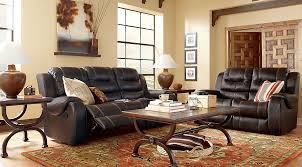 Baycliffe Brown 2 Pc Living Room with Reclining Sofa Living Room