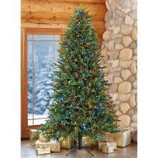 Aspen 12ft 36m Pre Lit 1350 LED Dual Colour Artificial Christmas Tree