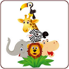 stickers jungle chambre bébé sticker animaux de la jungle un sticker jungle pour chambre d