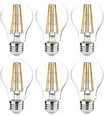amazonbasics 60 watt equivalent clear dimmable a19