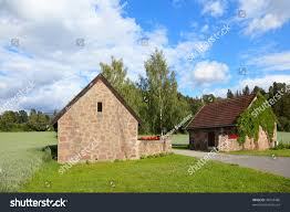 100 Houses In Norway Old Village Scandinavian Europe Stock Photo