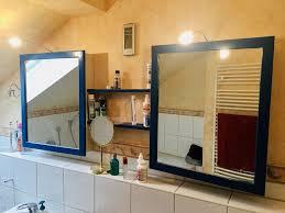 badschrank spiegelschrank retro vintage bad spiegel schrank regal