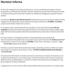 Movistar Fusión Subirá En Febrero Su Precio 5 Euros A Cambio De Más