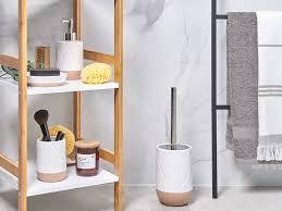 badezimmer zubehör weiß beige lebu ch