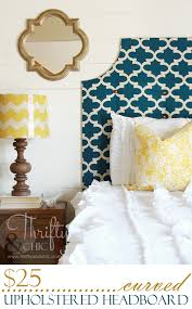 Cheap Upholstered Headboard Diy by Easy Curved Upholstered Headboard For 25 Room
