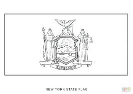 New Mexico Flag Coloring Sheet Click York Pages Page With Key