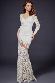 long white lace dress with sleeves naf dresses
