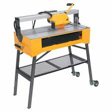 macon tile saw qep 83200 24 inch bridge tile saw with water pump