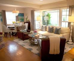 Interior Delightful Design With Brown Leather Single