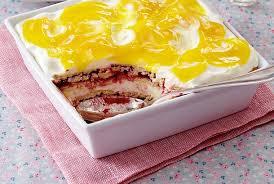himbeer schmand lasagne mit lemon curd