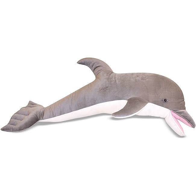 Melissa and Doug Plush Stuffed Dolphin