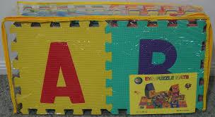 Dining Room Brilliant Abc Alphabet Puzzle Interlocking Eva Foam