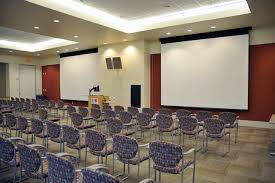 Drop Ceiling Mount Projector Screen by Multimedia Rooms University Of Houston Downtown