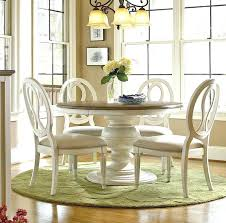 dining table shabby chic dining table and chairs centerpiece