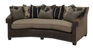 Drexel Heritage Sofa Fabrics by Furniture Elegant Brown Sofa By Massoud Furniture With Oval Glass