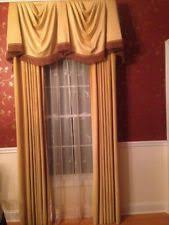 curtains drapes valances in brand j c penney color red ebay