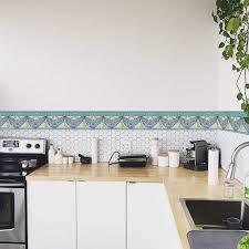 wasserdichte pvc klebe bad bordüre küche wandbordüre muster