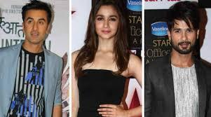 Alia Bhatt talks about working with Shahid Kapoor and Ranbir