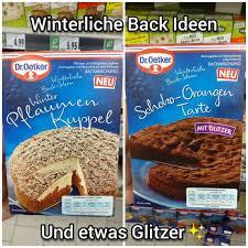 foodschau werbung dr oetker winterliche back ideen