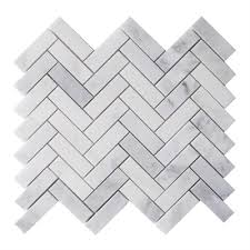 Lowes Canada White Subway Tile by Bestview Boardwalk Herringbone 12 In X 12 In Natural Stone Mosaic